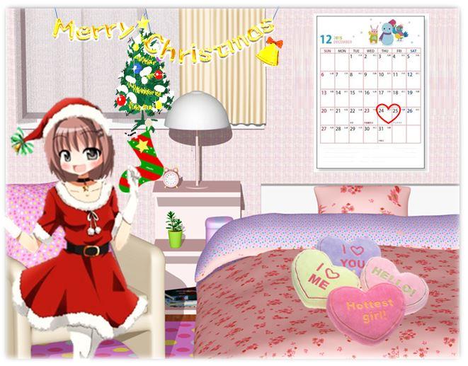 まりあの休日(クリスマス)私の想い❤ 届くかな~ 届くといいな~