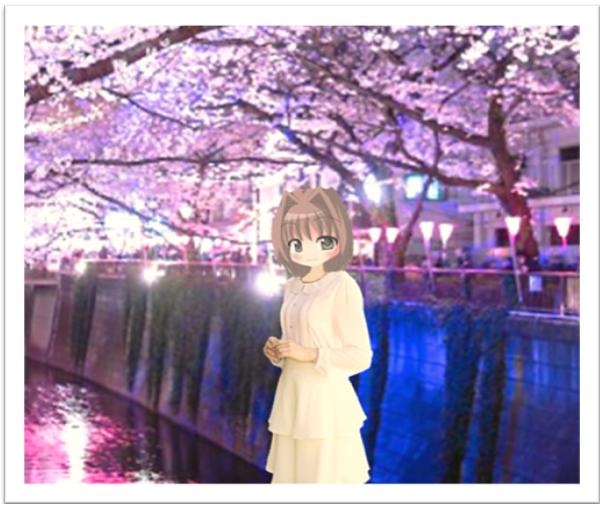 まりあの休日(満開するも直に散りゆく桜は儚いからこそ美しい)
