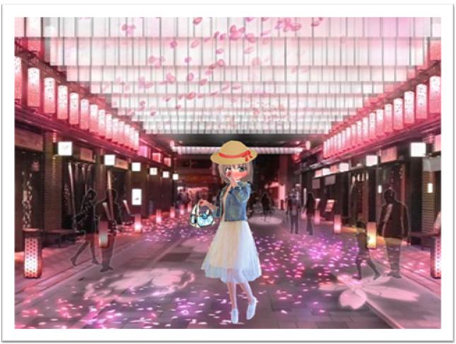 まりあの休日(桜咲く春の訪れが素敵な想い出の始まり)
