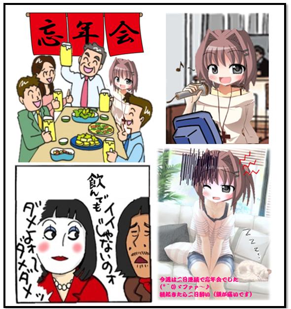 まりあの休日(二日酔い反省)